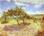 Apple Trees In Blossom by  Claude Monet (Painting ID: MO-1138-KA)