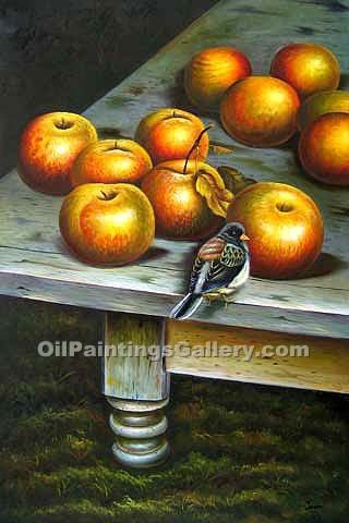 """Apples and a Bird"""