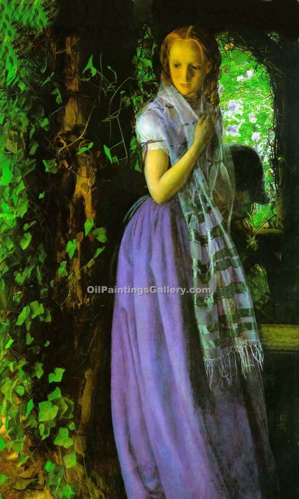"""April Love"" by  Arthur Hughes"