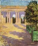 Arcade of the Grand Trianon Versailles by  James Carroll Beckwith (Painting ID: CI-2106-KA)