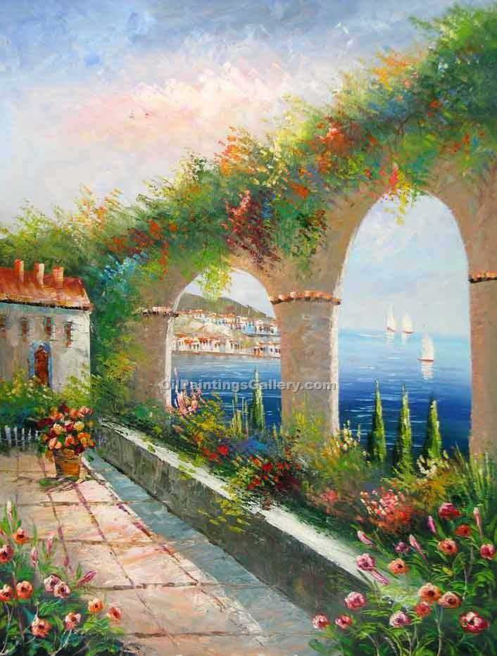 """Arch View to the Mediterranean"""