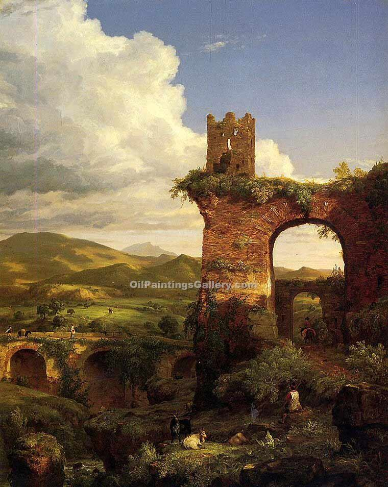 """Arch of Nero"" by  Thomas Cole"