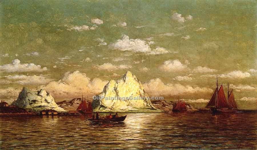 """Arctic Harbor"" by  William Bradford"