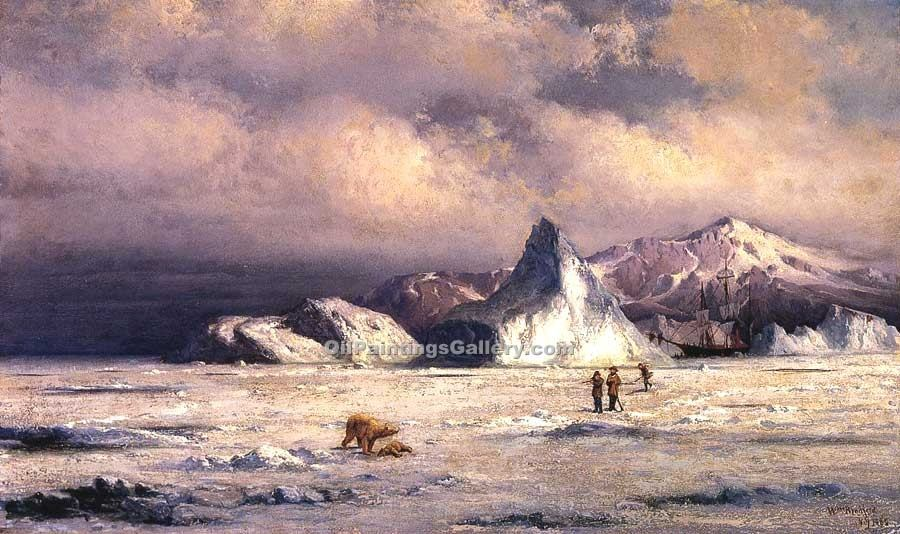 Arctic Invaders by William Bradford (Painting ID: LB-0456-KA)