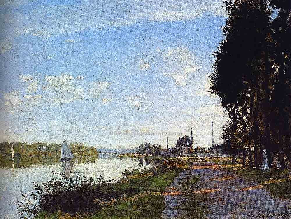 """Argenteuil 88"" by  Claude Monet"