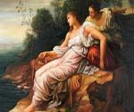 Ariadne on the Island of Naxos by  George Watts (Painting ID: CM-1362-KA)