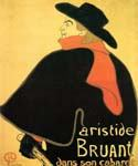 Aristede Bruand at His Cabaret by  Henri Toulouse Lautrec (Painting ID: ED-1126-KA)