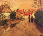 Arques La Bataille Normandie by  Fritz Thaulow (Painting ID: LA-0588-KA)
