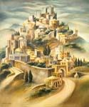 Ascend to Jerusalem 1 by  Dan Livni (Painting ID: AD-0301-KA)