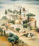 Ascend to Jerusalem 2 by  Dan Livni (Painting ID: AD-0303-KA)