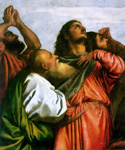 Assumption of the Virgin, detail 1 by   Titian (Painting ID: DA-0159-KA)