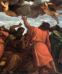 Assumption of the Virgin, detail 3 by   Titian (Painting ID: DA-0161-KA)
