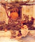 At Capri by  John William Waterhouse (Painting ID: CL-4236-KA)