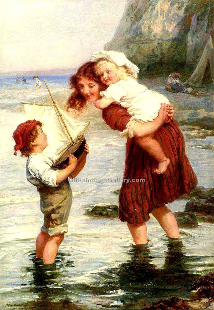 """At Scarborough"" by  Frederick Morgan"