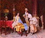 At the Dressmakers by  Adriano Cecchi (Painting ID: CM-0894-KA)