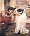 At the Shrine by  John William Waterhouse (Painting ID: CL-4226-KA)