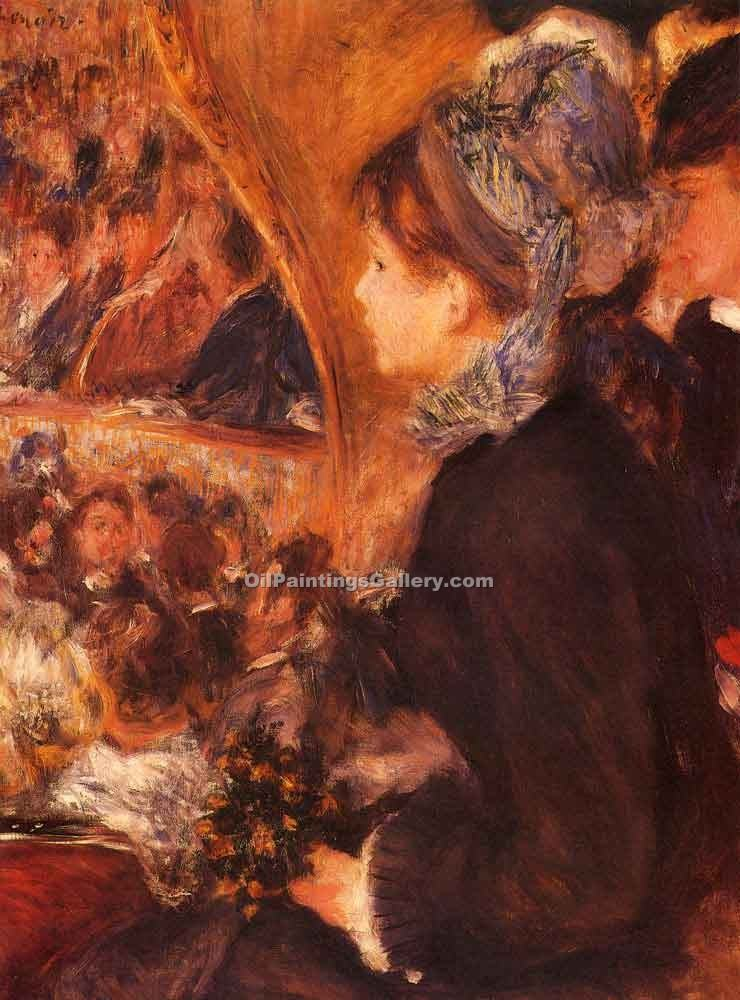 """At the Theatre"" by  Pierre Auguste Renoir"
