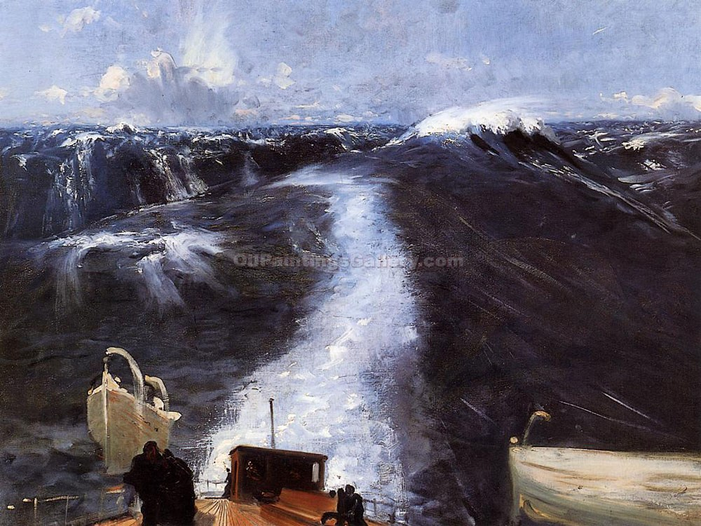 """Atlantic Storm"" by  John Singer Sargent"