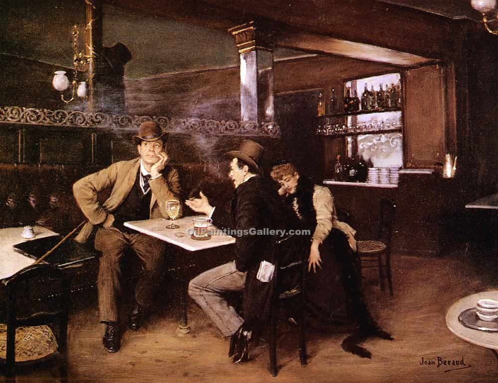"""Au Bistro Paris"" by  Jean Beraud"