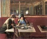 Au Cafe Paris by  Jean Beraud (Painting ID: EI-0850-KA)