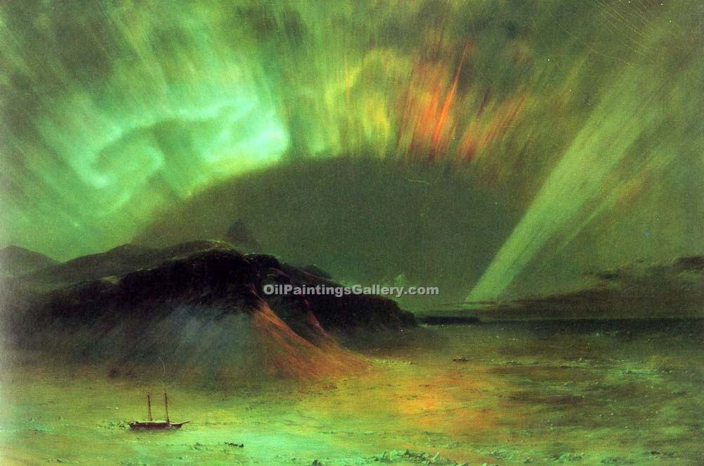 """Aurora Borealis"" by  Frederic Edwin Church"