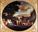 Autumn (Venus and Adonis) by  Francesco Albani (Painting ID: DA-0083-KA)