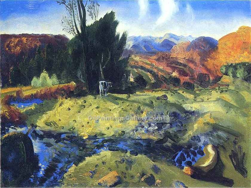 """Autumn Brook 22"" by  George Bellows"