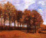 Autumn Landscape 36 by  Vincent Van Gogh (Painting ID: VG-0136-KA)
