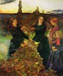 Autumn Leaves by  John Everett Millais (Painting ID: CM-0729-KA)