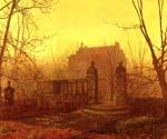 Autumn Morning 44 by  John Atkinson Grimshaw (Painting ID: LA-0244-KA)