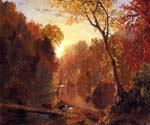 Autumn in North America by  Frederic Edwin Church (Painting ID: LA-1509-KA)