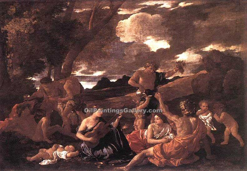"""Bacchanal the Andrians"" by  Nicolas Poussin"