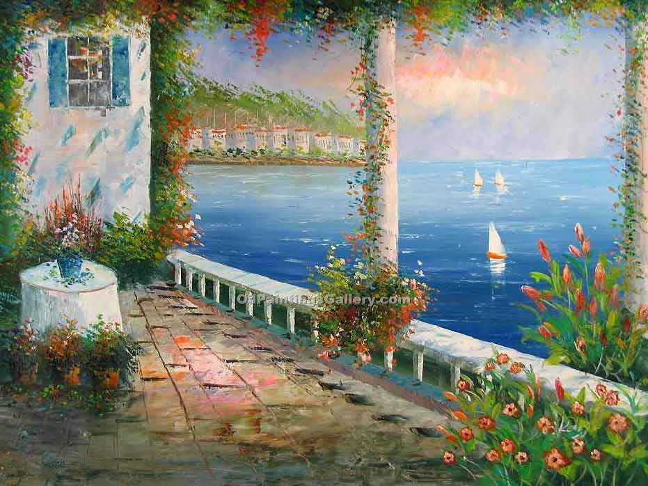"""Balcony on the Mediterranean"""