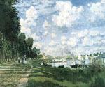 Bassin d Argenteuil by  Claude Monet (Painting ID: MO-1130-KA)