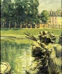 Bassin de Neptune Versailles, France by  James Carroll Beckwith (Painting ID: CI-2110-KA)