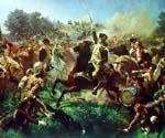 Battle of Monmouth by  Emanuel Gottlieb Leutze (Painting ID: CL-2764-KA)