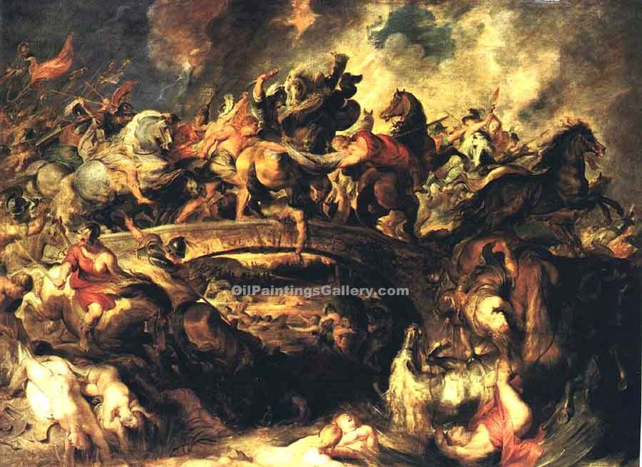 Battle of the Amazons by Rubens Peter Paul | Online Gallery - Oil Paintings Gallery
