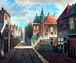 Bavarian Village 51  (Painting ID: CI-4151-KA)