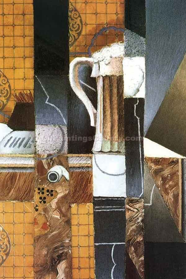 """Beer Cup and Card"" by  Juan Gris"
