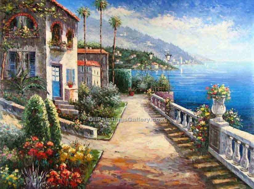 Buy Oil Painting Landscapes Online | Realism & Naturalism styles - Bella Vista 76