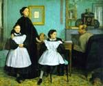 Belleli Family by  Edgar Degas (Painting ID: ED-1050-KA)