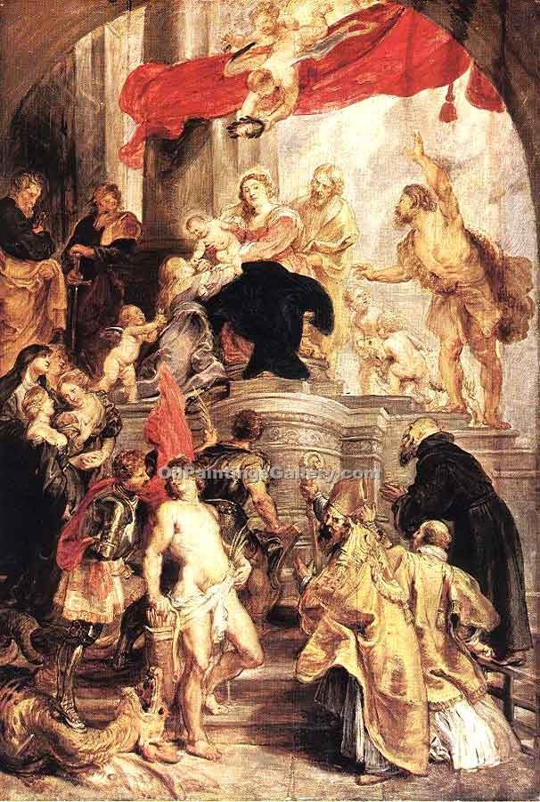 """Bethrotal of St. Catherine"" by  Peter Paul Rubens"