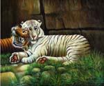 Big Cats Oil Painting (ID: AN-2048-B)