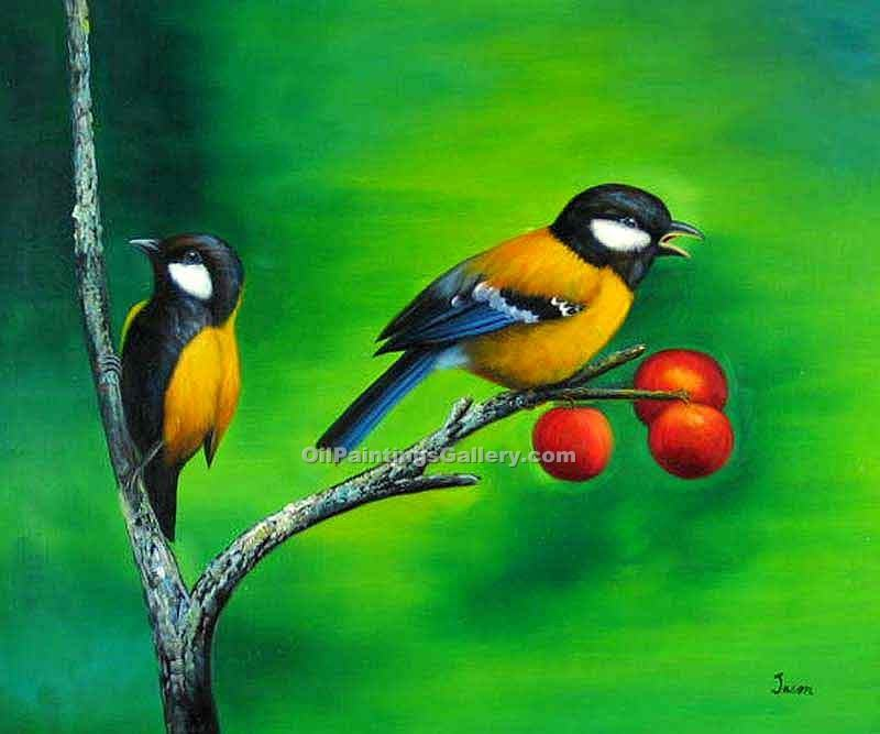 Buy Bird Paintings Online | Realism & Naturalism style Oil Paintings GalleryWhite Chest Bird