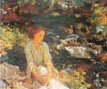 Black Brook by  John Singer Sargent (Painting ID: EI-0404-KA)