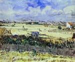 Blue Cart by  Vincent Van Gogh (Painting ID: VG-0142-KA)