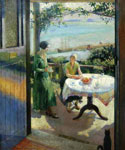 Blue Door by  Harold Harvey (Painting ID: LA-2705-KA)