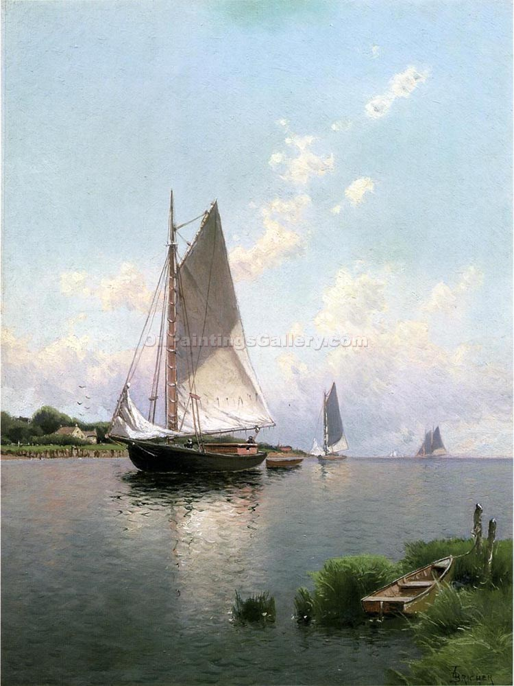 """Blue Point, Long Island"" by  Alfred Thompson Bricher"