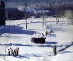 Blue Snow the Battery by  George Bellows (Painting ID: GE-2239-KA)