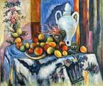 Blue Still Life by  Paul Cezanne (Painting ID: SL-2121-KA)
